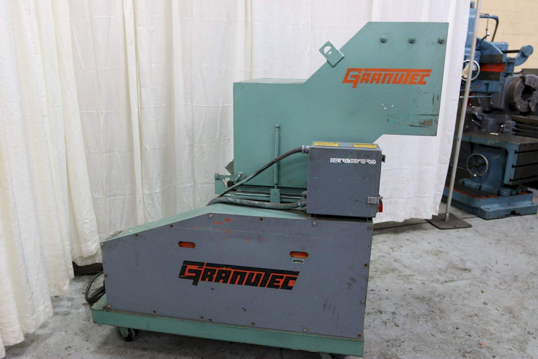 20 HP GRANUTEC MODEL TFG 1224 PLASTIC GRANULATOR: STOCK #68540