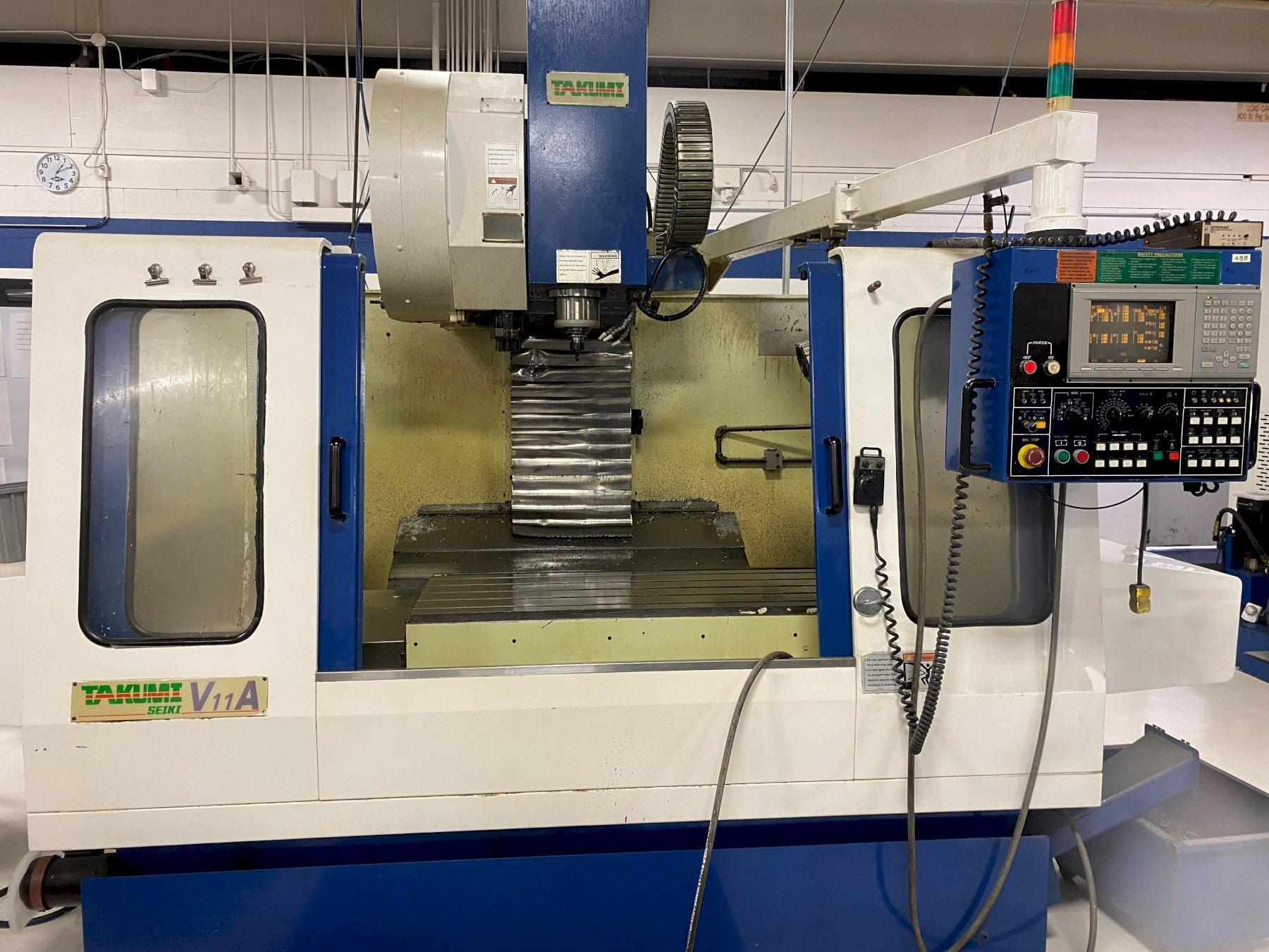 Takumi Model V11A CNC Vertical Machining Center, New 1998