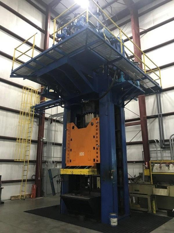 1200 Ton HPM Hydraulic Press
