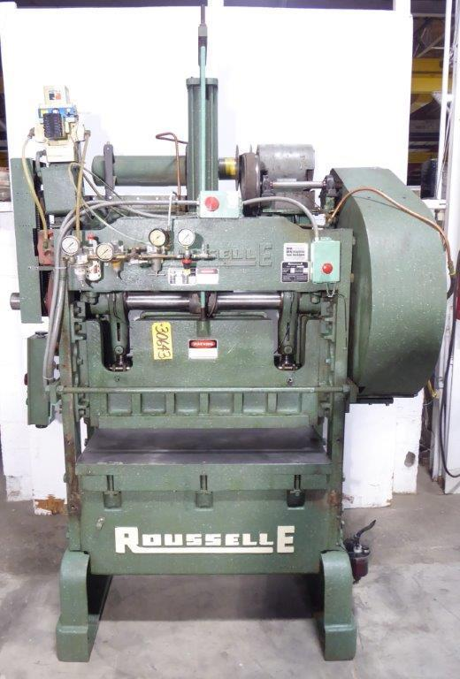 40 Ton Rousselle No. 4SS44, 2″ Str., 6″ S.H., 22″ x 44″ Bed, Vari-Speed, Nice