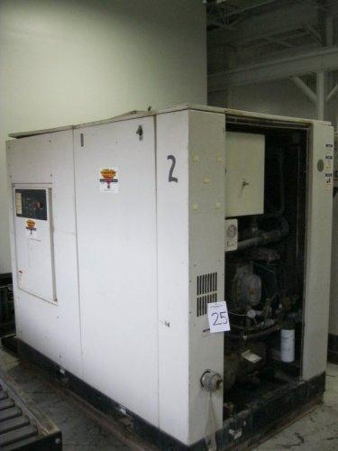 288 CFM, 125 PSI Ingersoll Rand, #Sierra-H75A, 75 HP.