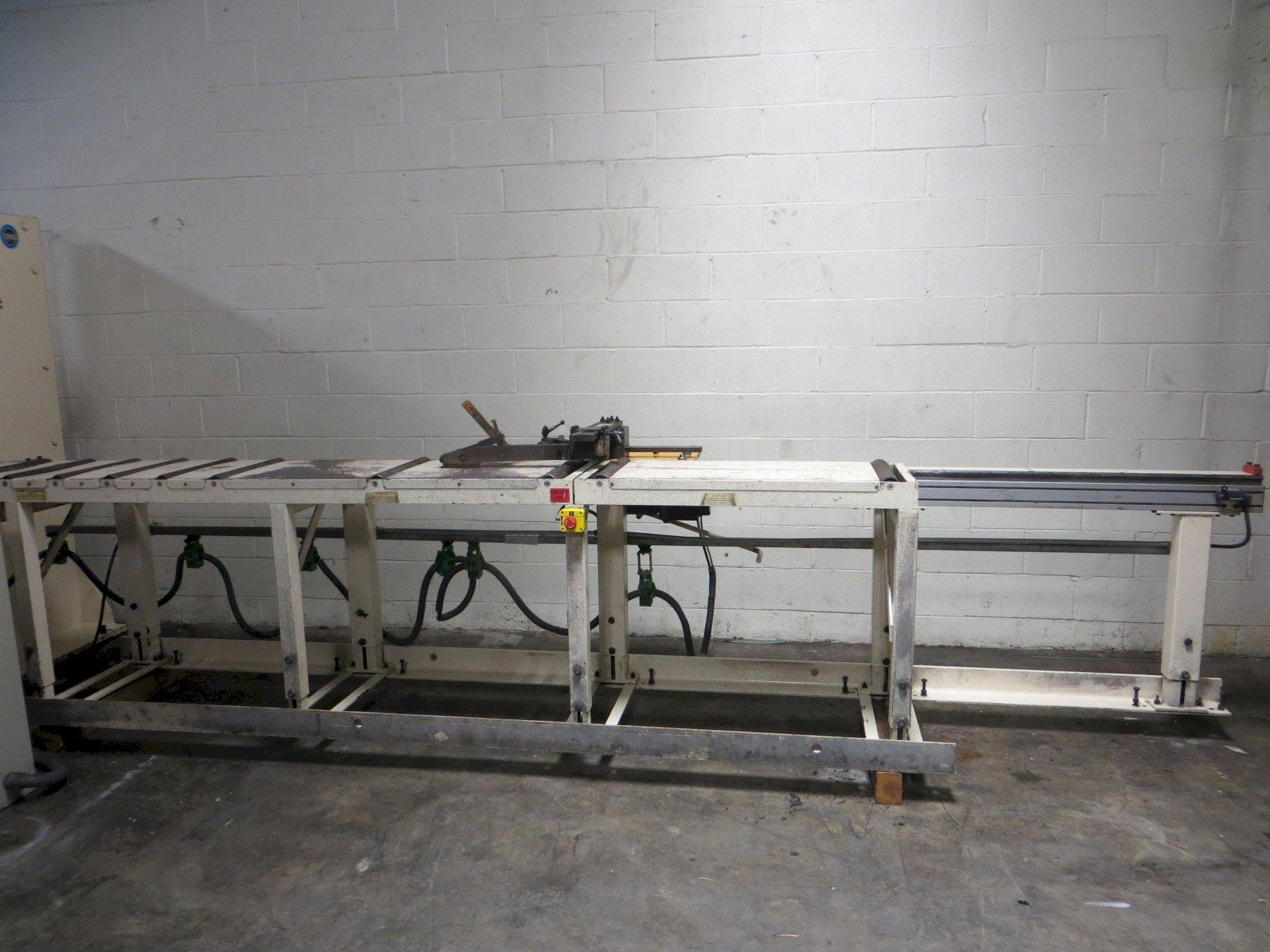 185 Ton Geka Hydraulic Single End Punch Model PUMA 165SD with CNC PAX System