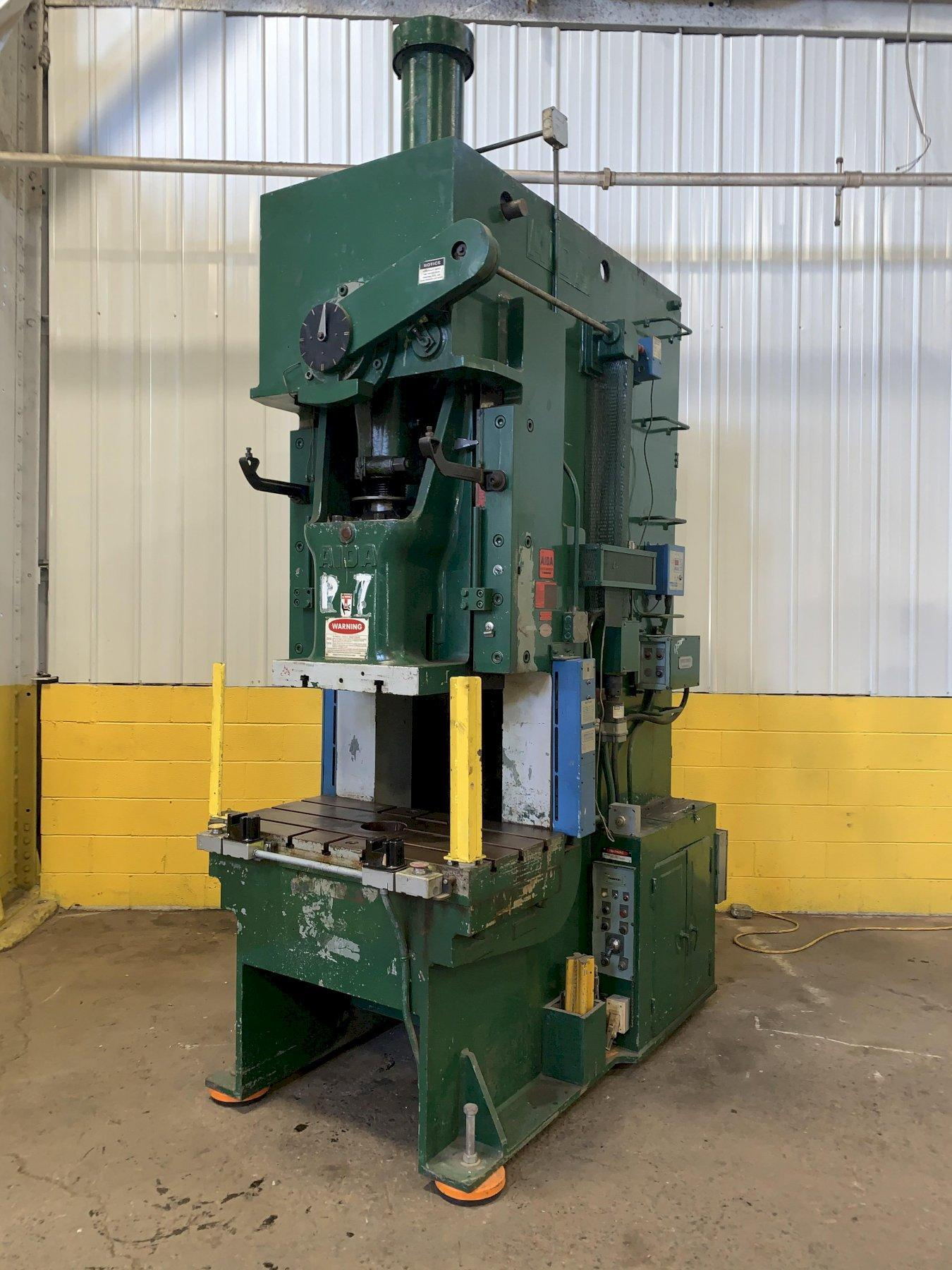 110 TON AIDA MODEL #PC-10 (2) GAP FRAME PRESS: STOCK #13043