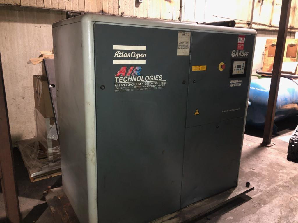 60 HP ATLAS CORP CO AIR COMPRESSOR