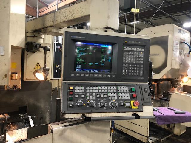 "OKUMAOkuma MC-40VA CNC VMCs, 3-Available! New: 1996 25.6"" x 16.1"" x 17.7"", CT40, 6K RPM, 7.5 HP, 15 Tools, OSP7000M Ctrl"