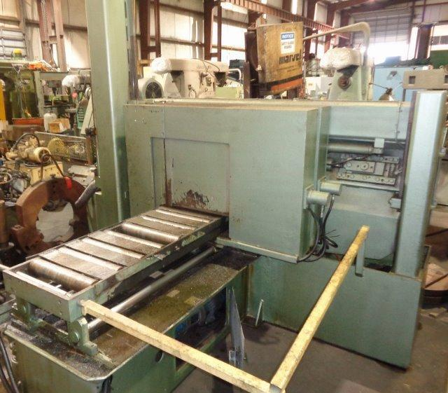 """16"""" X 16"""" HYD-MECH MODEL H16A HEAVY DUTY POST TYPE AUTOMATIC HORIZONTAL BAND SAW"""