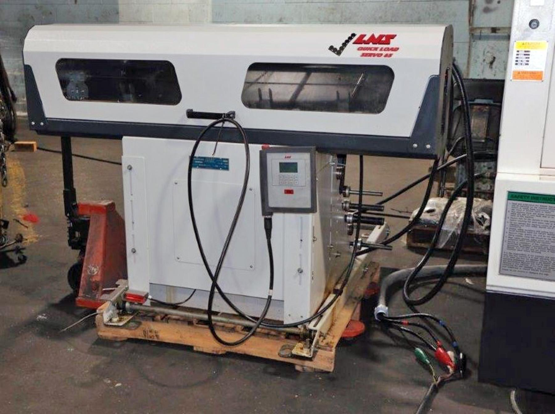 USED, MAZAK QUICK TURN SMART 200 CNC TURNING CENTER WITH LNS BAR FEEDER