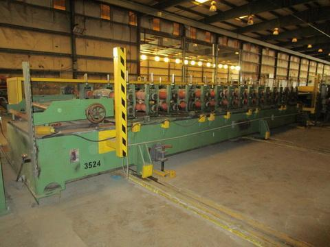 16 Stand B&K R Panel Roll Forming Line