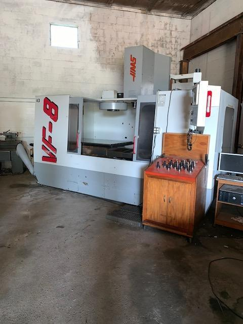 HAAS VF-8/50 CNC VERTICAL MACHINING CENTER. STOCK # 2101020