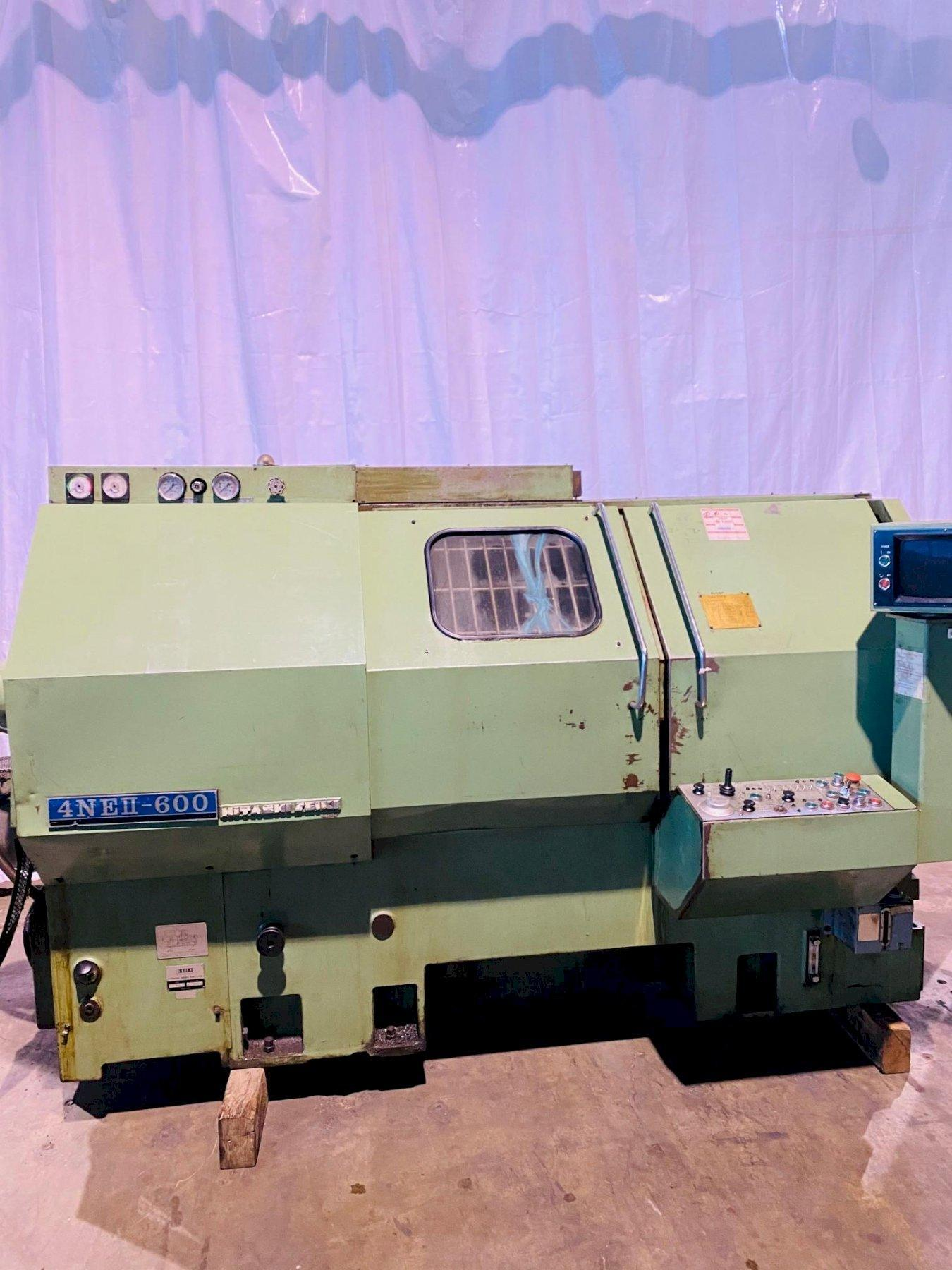 HITACHI- SEIKI MODEL 4NEII-600 CNC TURNING CENTER. STOCK # 0955420
