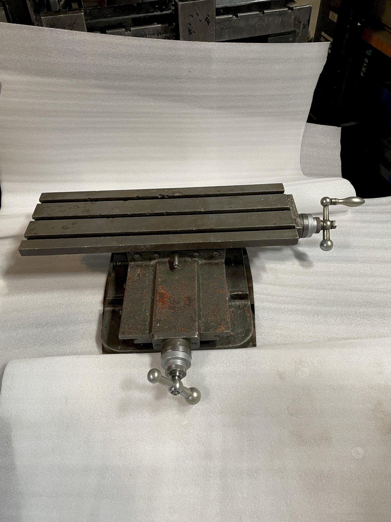 Bridgeport Adjustable Add-On Milling Table