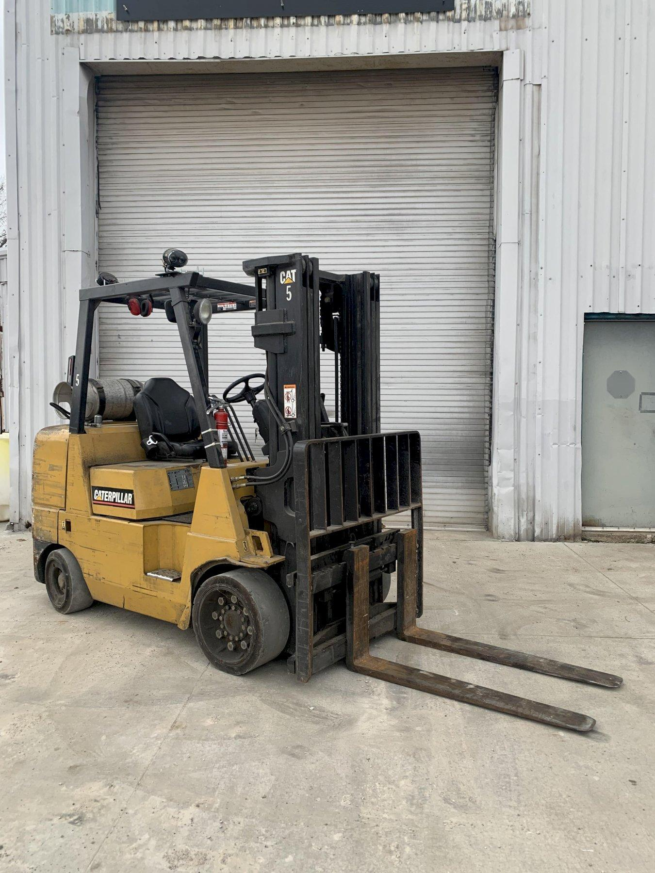 8,000 LB CATERPILLAR MODEL #GC40K1 LPG FORKLIFT, NEW 2006: STOCK #12539