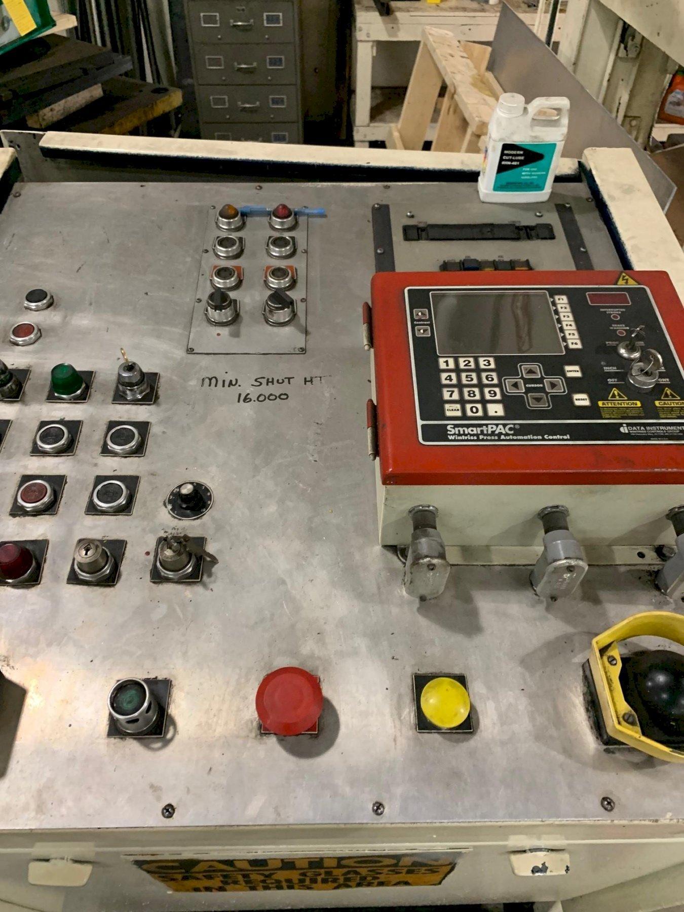 250 TON VERSON MODEL S4-250-108-54T STRAIGHT SIDE PRESS