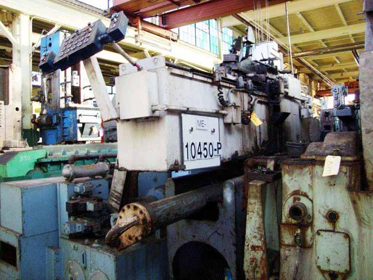6-Ton Apex Model H-6-48 Horizontal Internal Broaching Machine