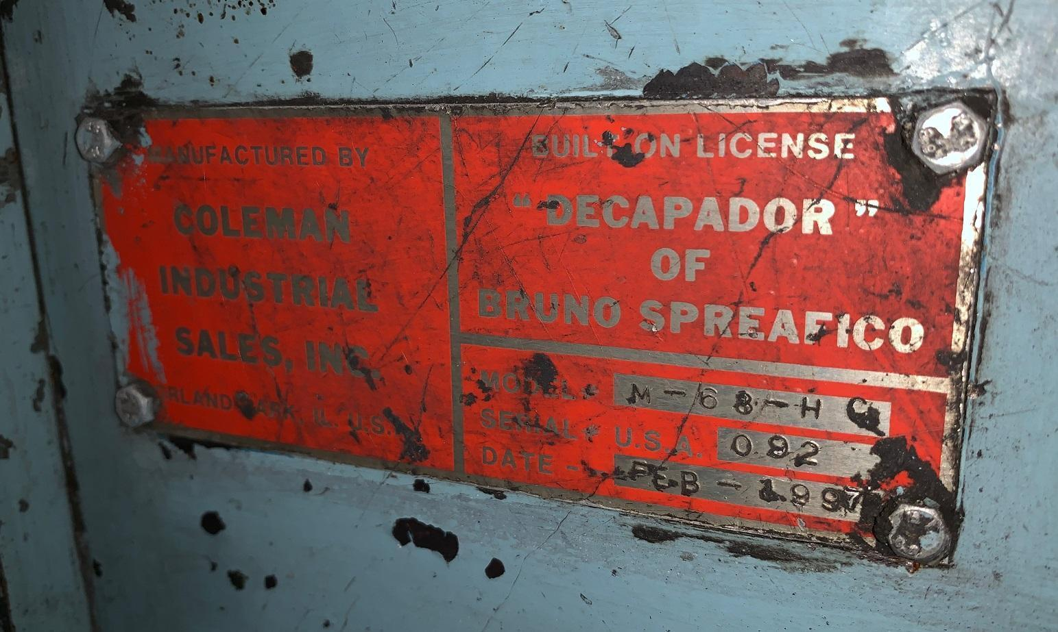 "5/16"" - 5/8""  Decapador Wire Descaler M68"