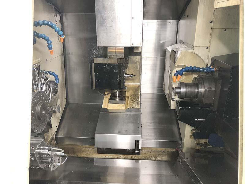 Tsugami TMU-1 CNC Swiss Lathe Twin Spindle Live Tool CNC Turning Center