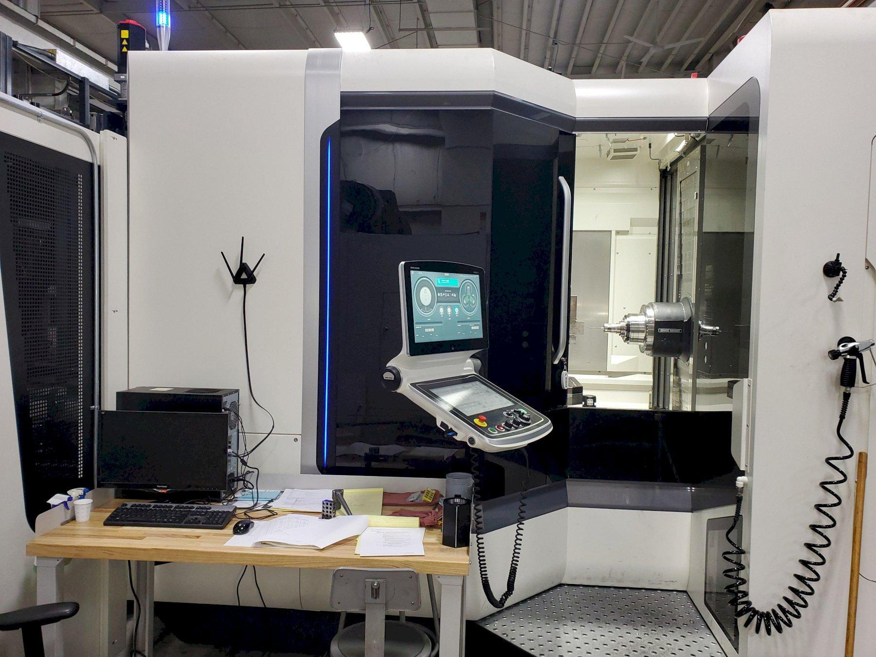 "DMG Mori NHX 6300 2nd GENERATION - LLP CNC Horizontal Machining Center, Celos ERGOline Touch Control, Trvls: 41.3"" x, 35.4"" y, 40.6 z, 12000 RPM, 180 ATC, 12 Pallet System & more, NEW 2020"