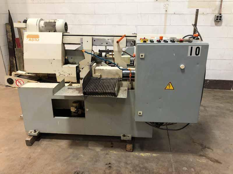 "10"" x 10"" Kasto SBA260AU Automatic Horizontal Band Saw"