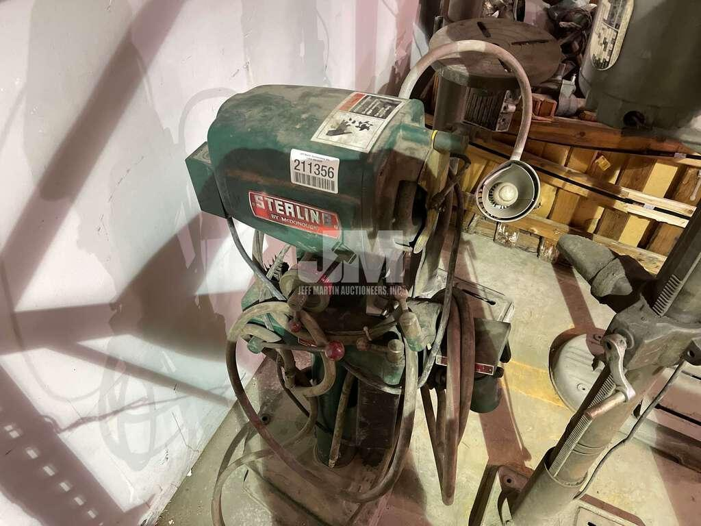 STERLING DRILL GRINDER: STOCK #15074