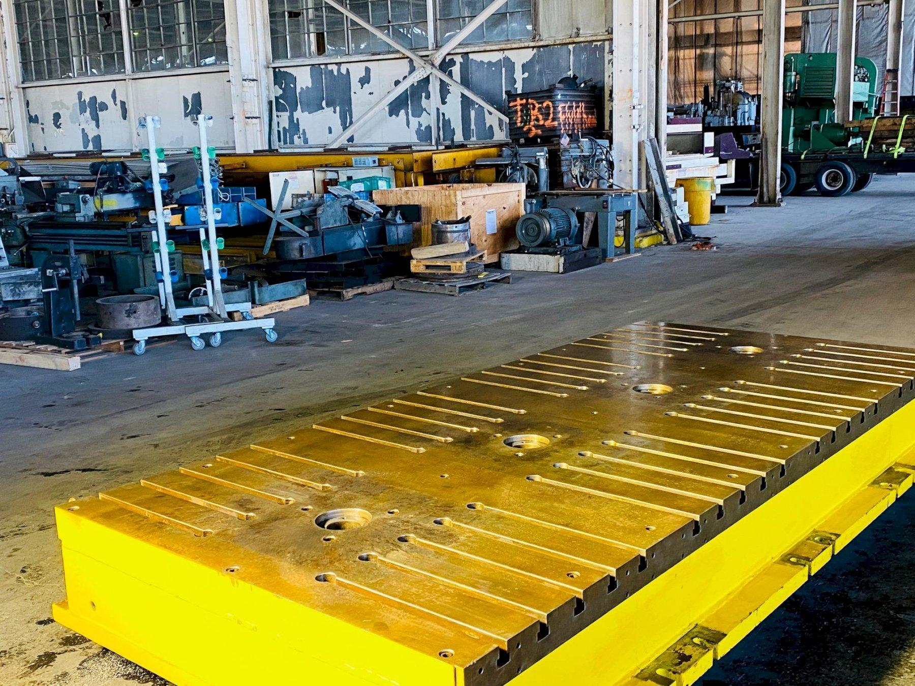 """65"""" x 143"""" x 16"""" T Slotted Floor Plate"""