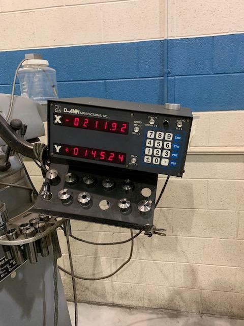 3 Hp Alliant Vertical Milling Machine