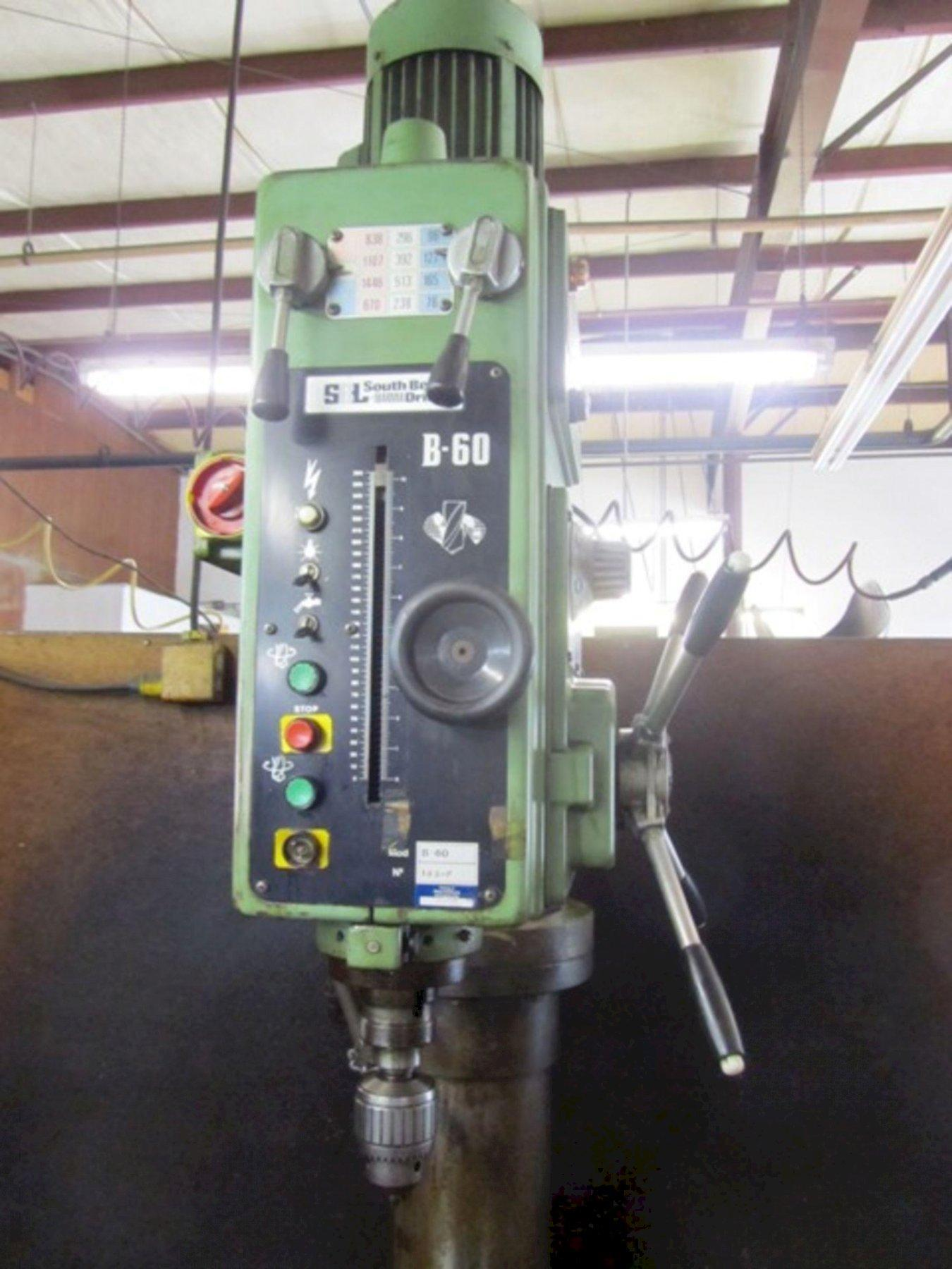 SOUTHBEND IBERMA MODEL #60 SINGLE SPINDLE DRILL: STOCK #73458