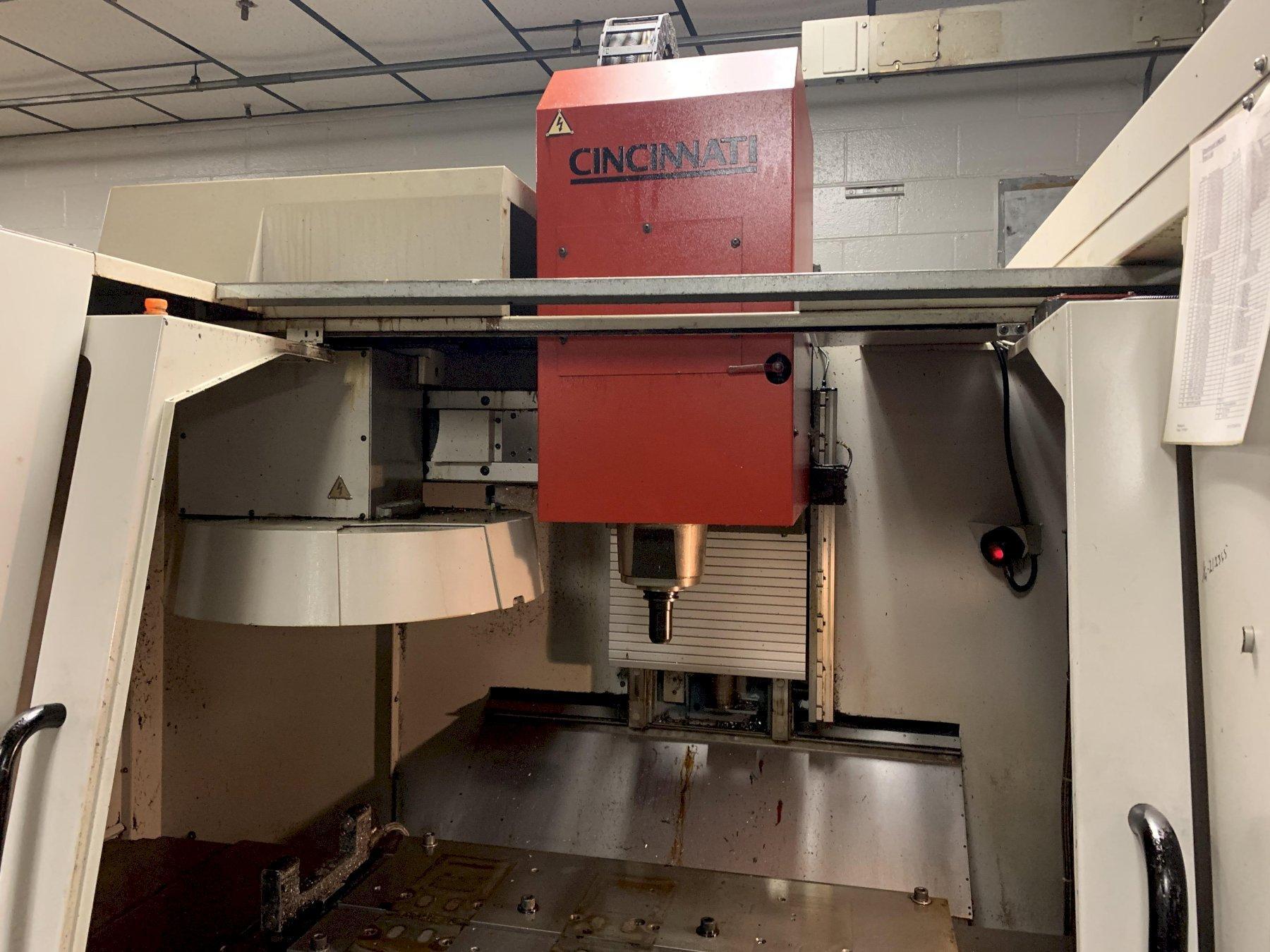 Cincinnati Arrow 1000 Vertical Machining Center with Fanuc 18i-M Control