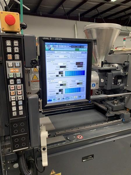 Sumitomo Used SE75V-A-C160 Electric Injection Molding Machine, 83 US ton, Yr. 2018, 2.2 oz.