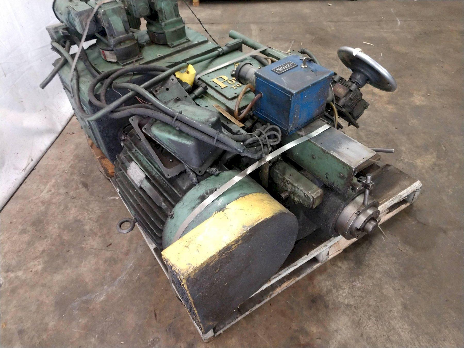 30 HP PONTIAC MODEL MH30-TR7 VERTICAL MILLING HEAD: STOCK #13208