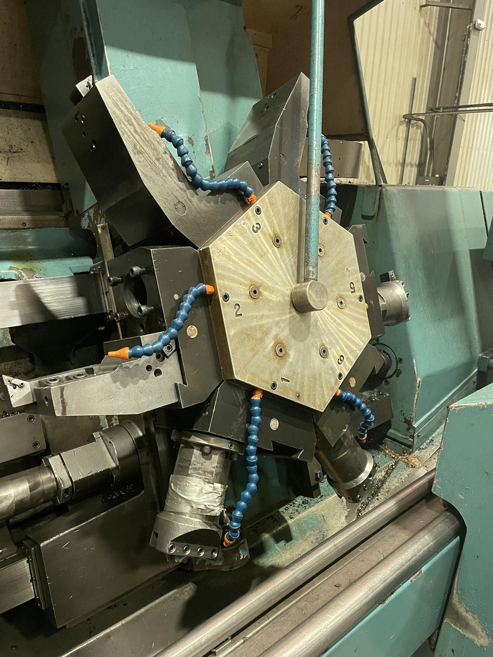 USED, WARNER & SWASEY SC-28 CNC LATHE
