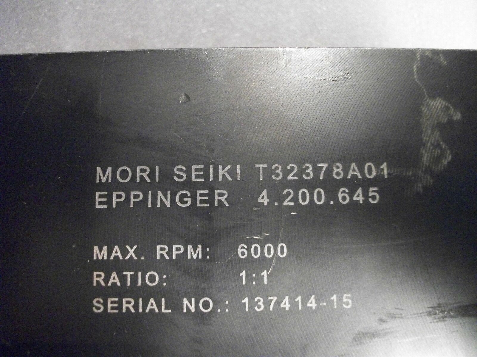 Mori Seiki Right Angle LIVE TOOLHOLDER 4.200.645, ER40, T32378A01