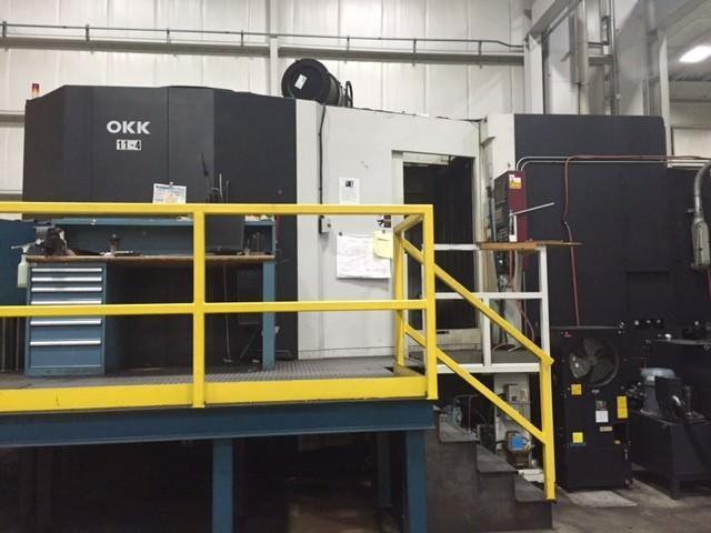 OKK HM 1250s CNC Horizontal Machining Center