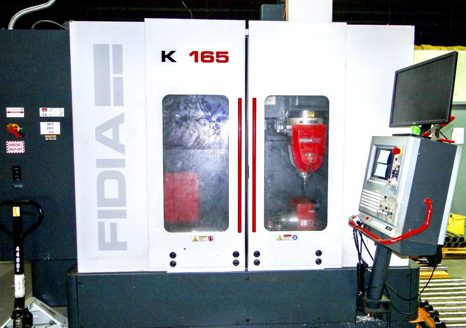 Fidia K165 5axis 2003