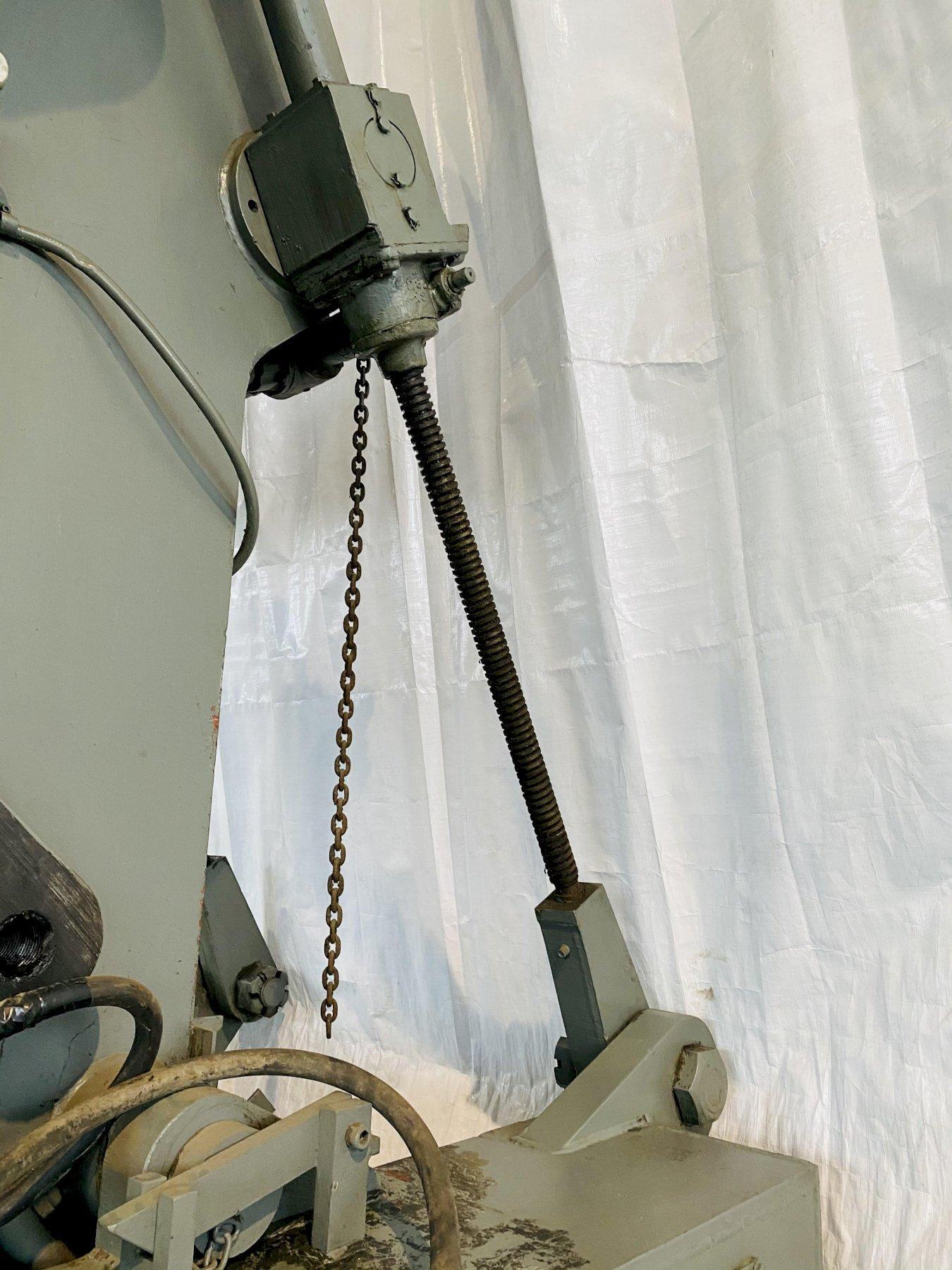 150 TON CLEARING 150-P-701 OBI STAMPING PRESS. STOCK # 0100221