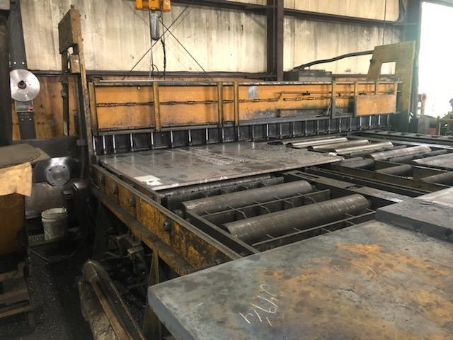 """8"""" x 21' OLIVER FERROUS PLATE COLD SAW: STOCK 15405"""