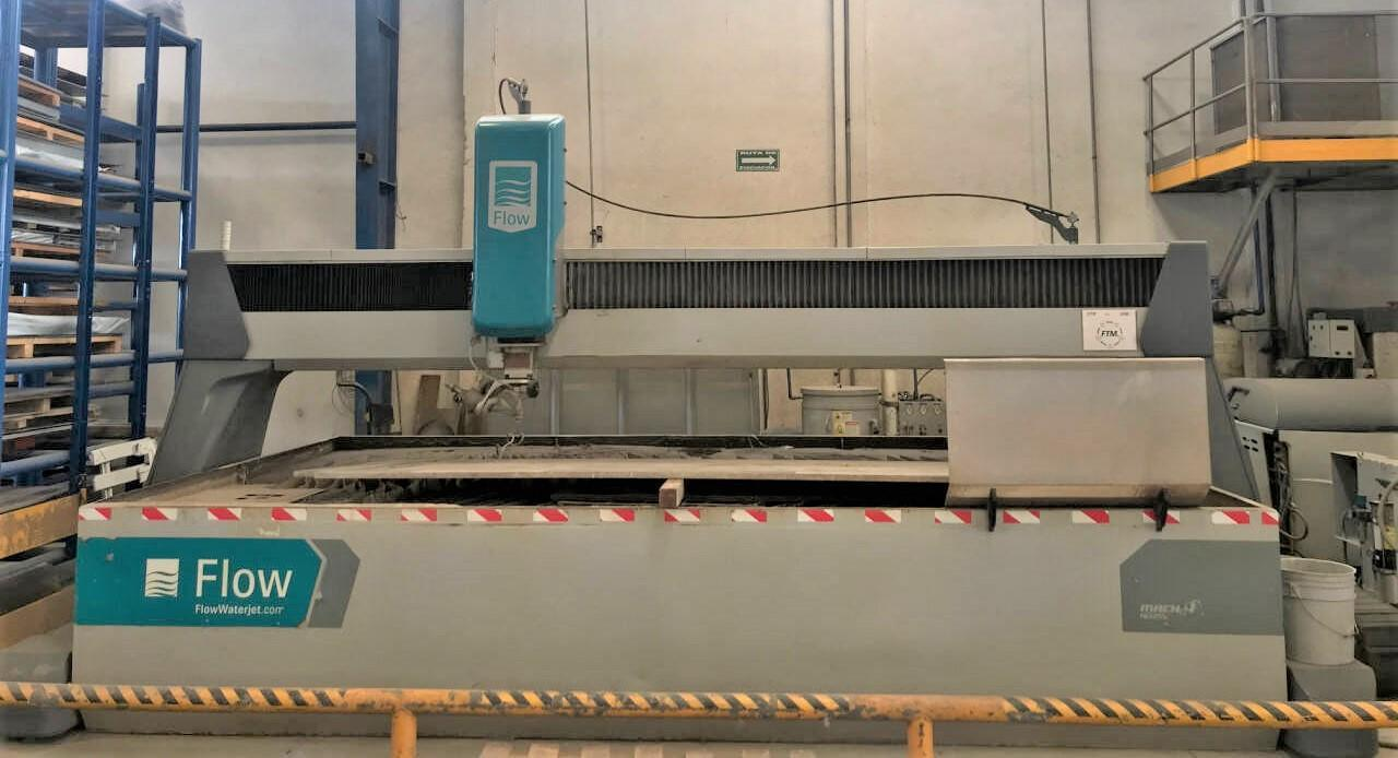 2012 Flow Mach4 4020C 5-Axis Waterjet Cutting System