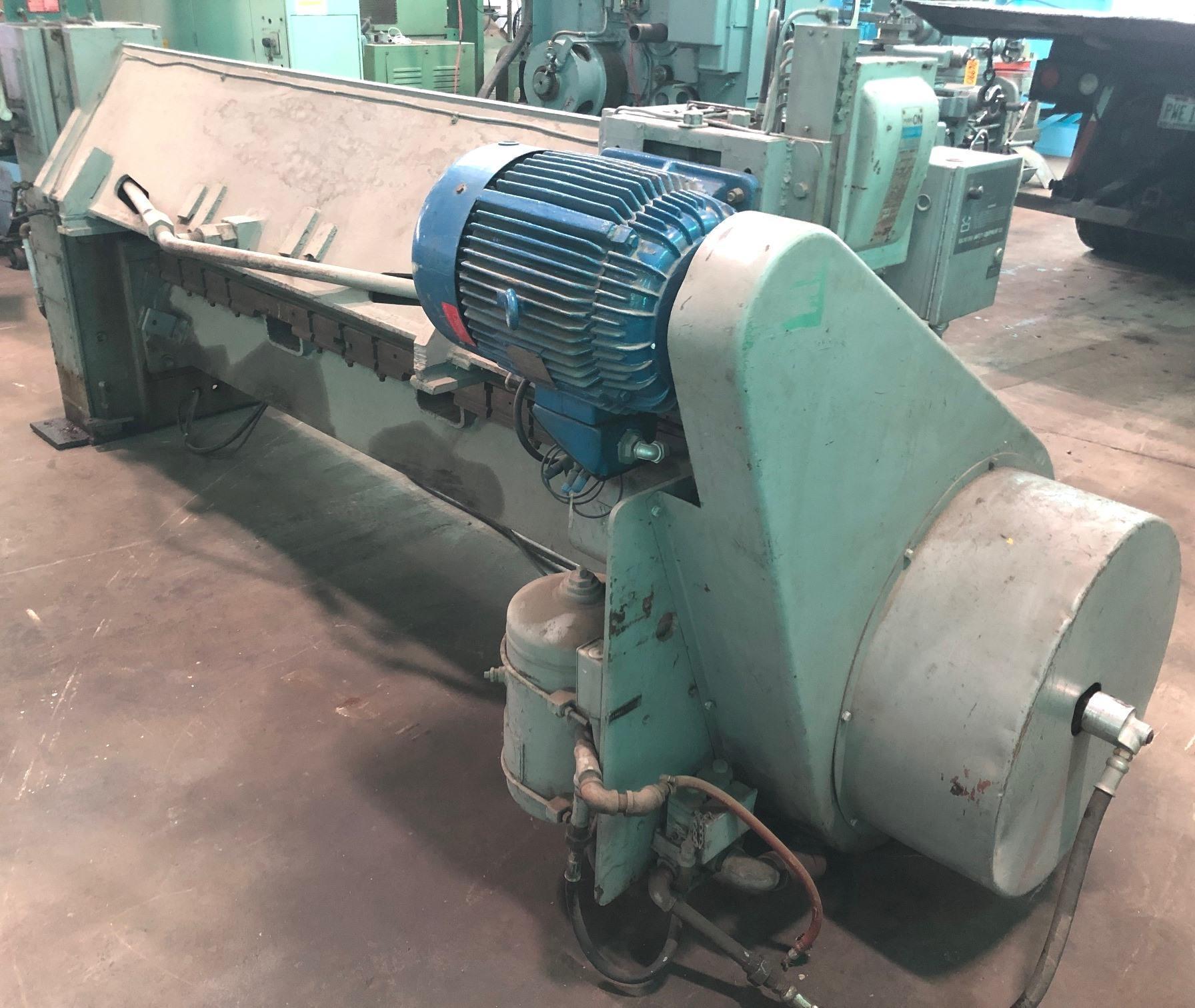 """84"""" Niagara Power Shear, Model F-77-B, Mech., Low Price"""