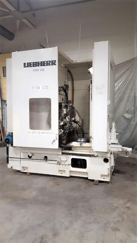 Liebherr Model LC502 6-Axis CNC Gear Hobber