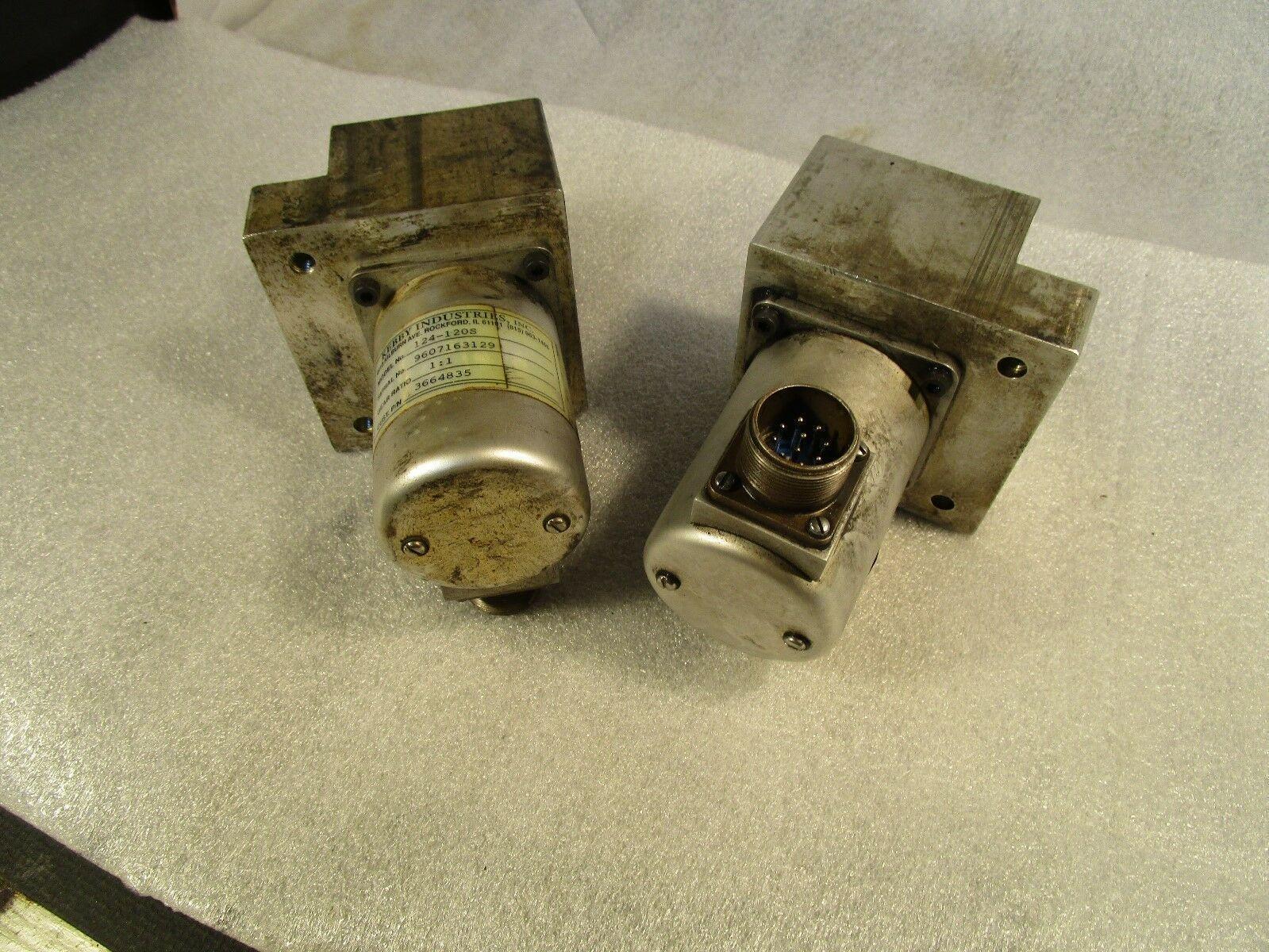 Kebby Industries Spindle Tach Encoder 124-120S CMI# 3664835