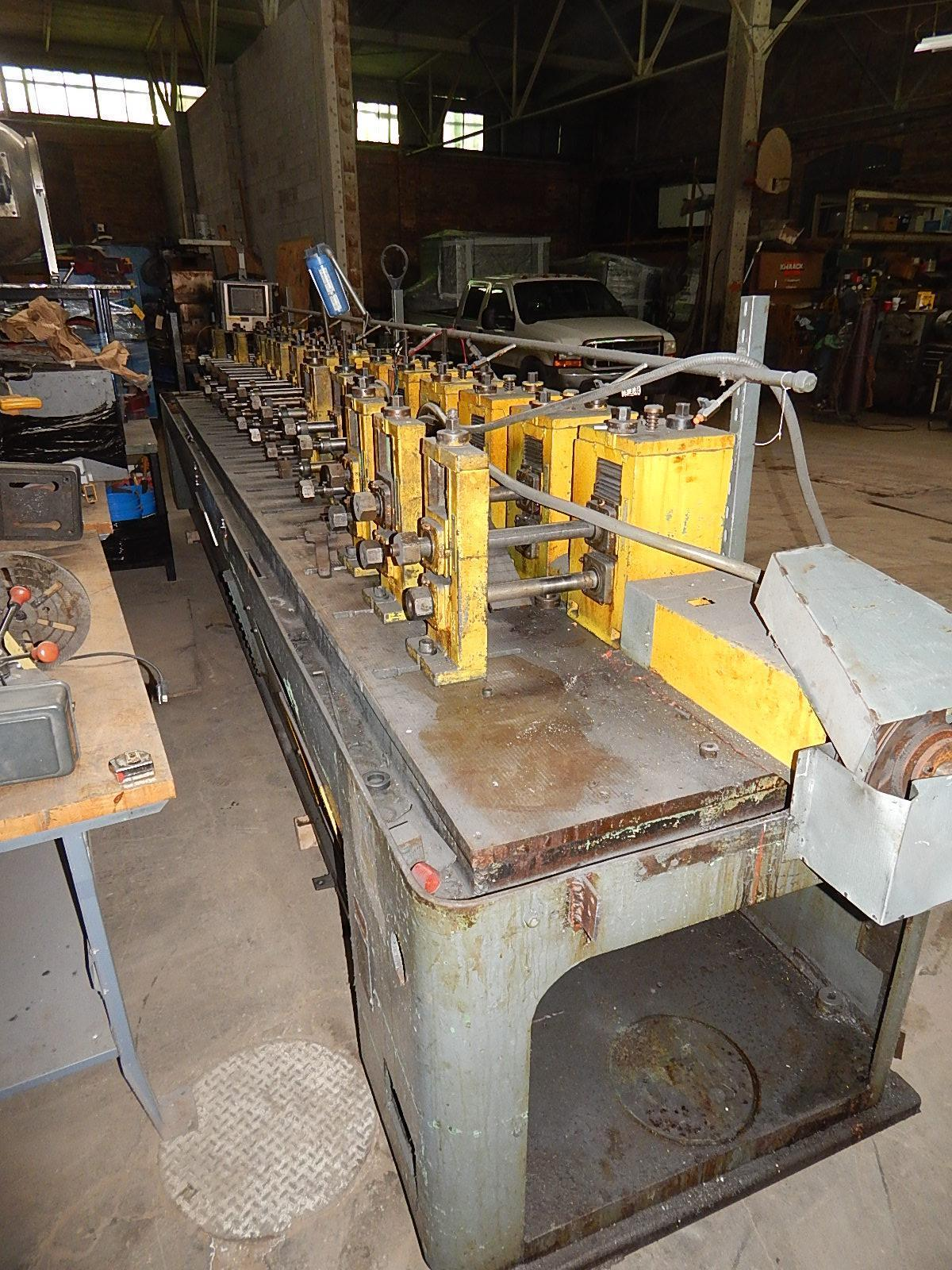 USED ARDCOR 14 STAND ROLL FORMER MODEL 1F, Stock No. 10684