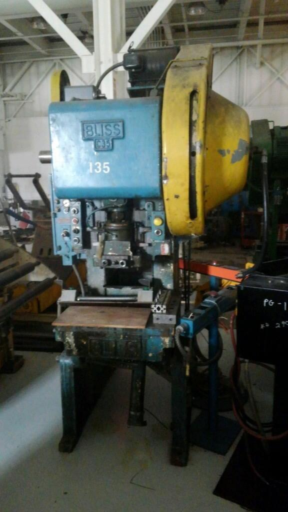 35 Ton BLISS C-35, C-Frame Press