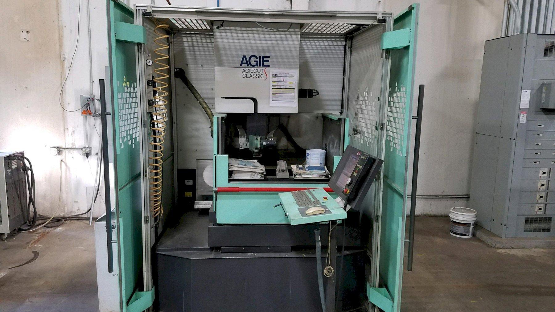 2003 AGIE AGIECUT CLASSIC 2S WIRE EDM: STOCK 12566