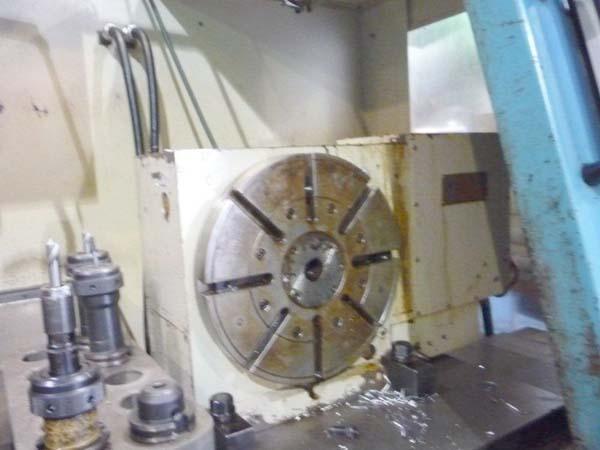 "FEMCO KFV-40, Fanuc OM CNC, X = 43"", Y = 22"", Z = 24"", 12"" Rotary Table, 9000 RPM, New 1995."