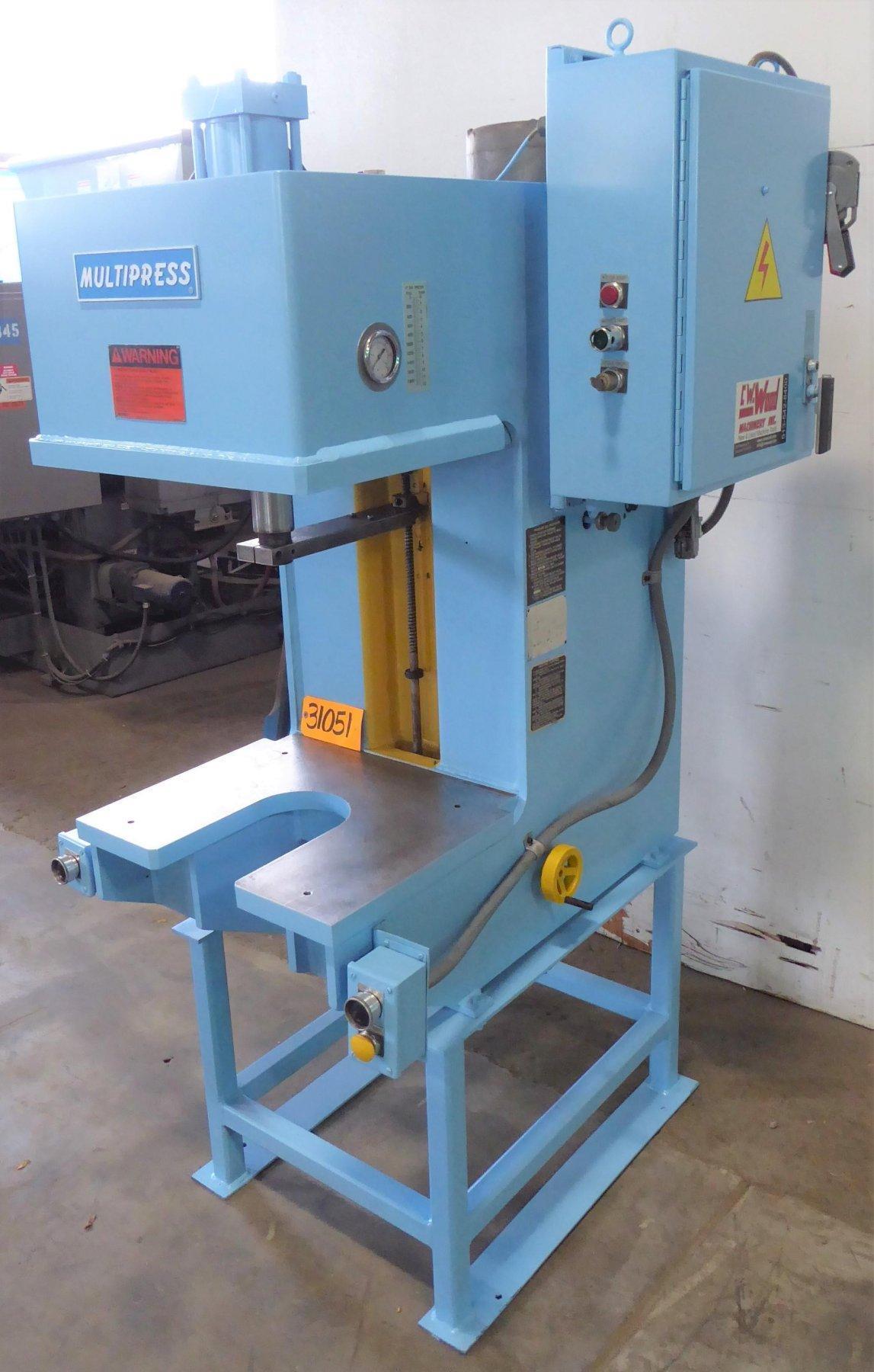 12 Ton Multipress Gap Frame Hydraulic Press W4T120H