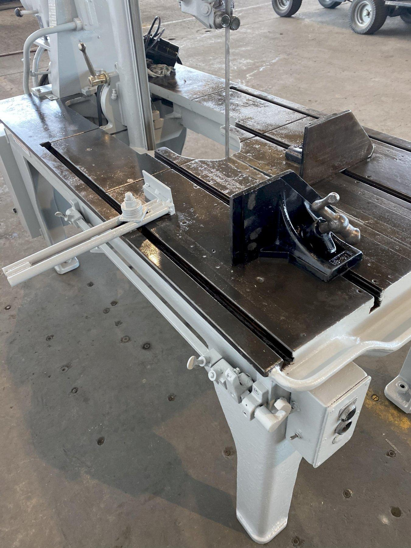 "18"" X 18"" MARVEL SERIES 8 VERTICAL BANDSAW. STOCK # 1263720"
