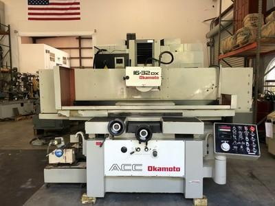 "16"" x 32"" OKAMOTO ACC-1632DX AUTOMATIC HYDRAULIC SURFACE GRINDER"