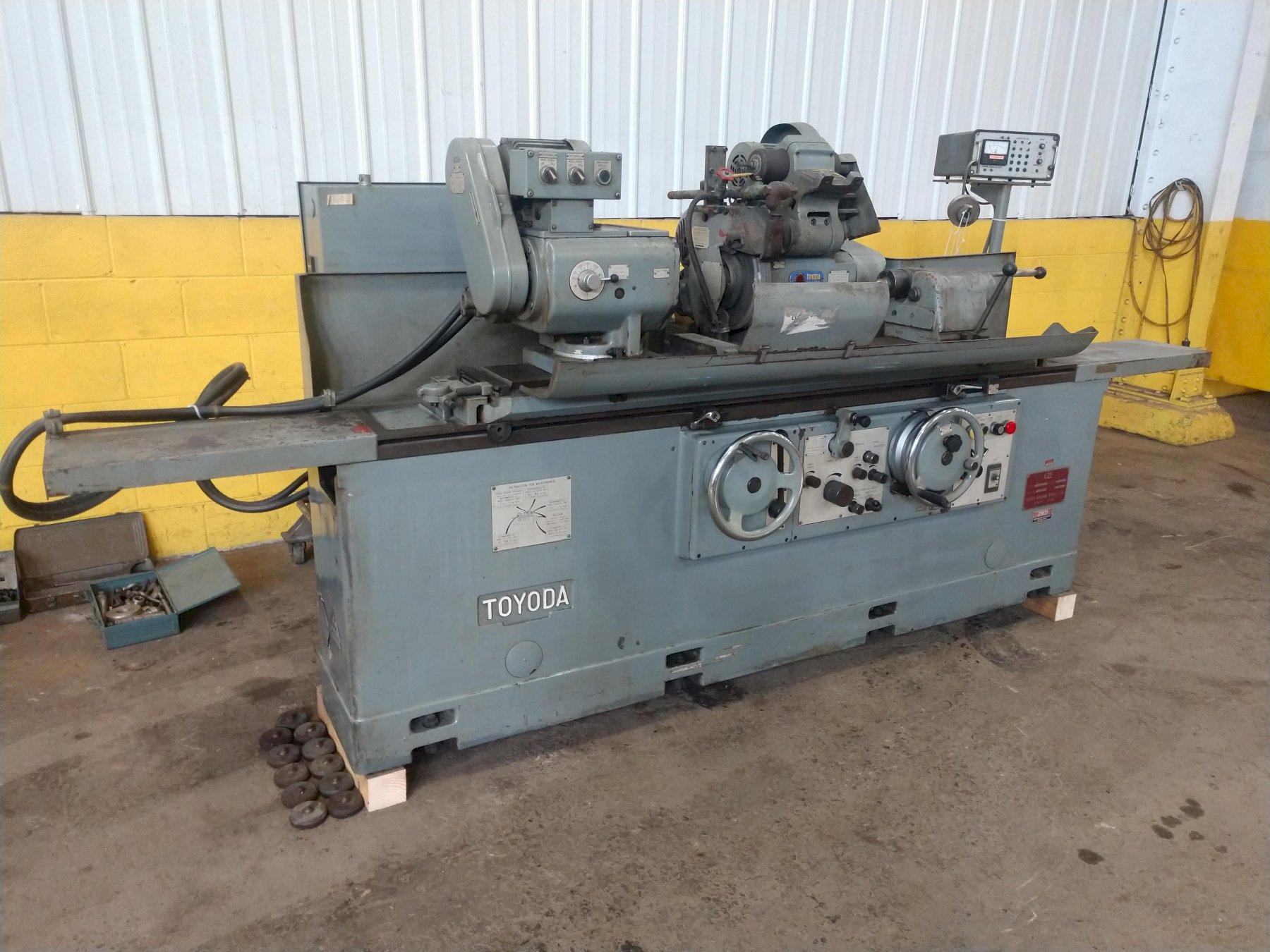 "12"" X 40"" TOYODA MODEL GUP32X100 CYLINDRICAL GRINDER: STOCK #14529"