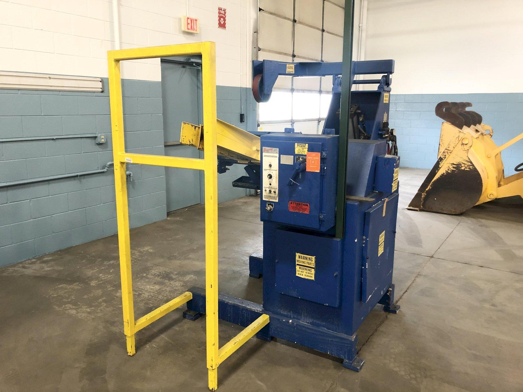 Feed Lease Motorized Coil Reel Uncoiler 4,000 Lbs.