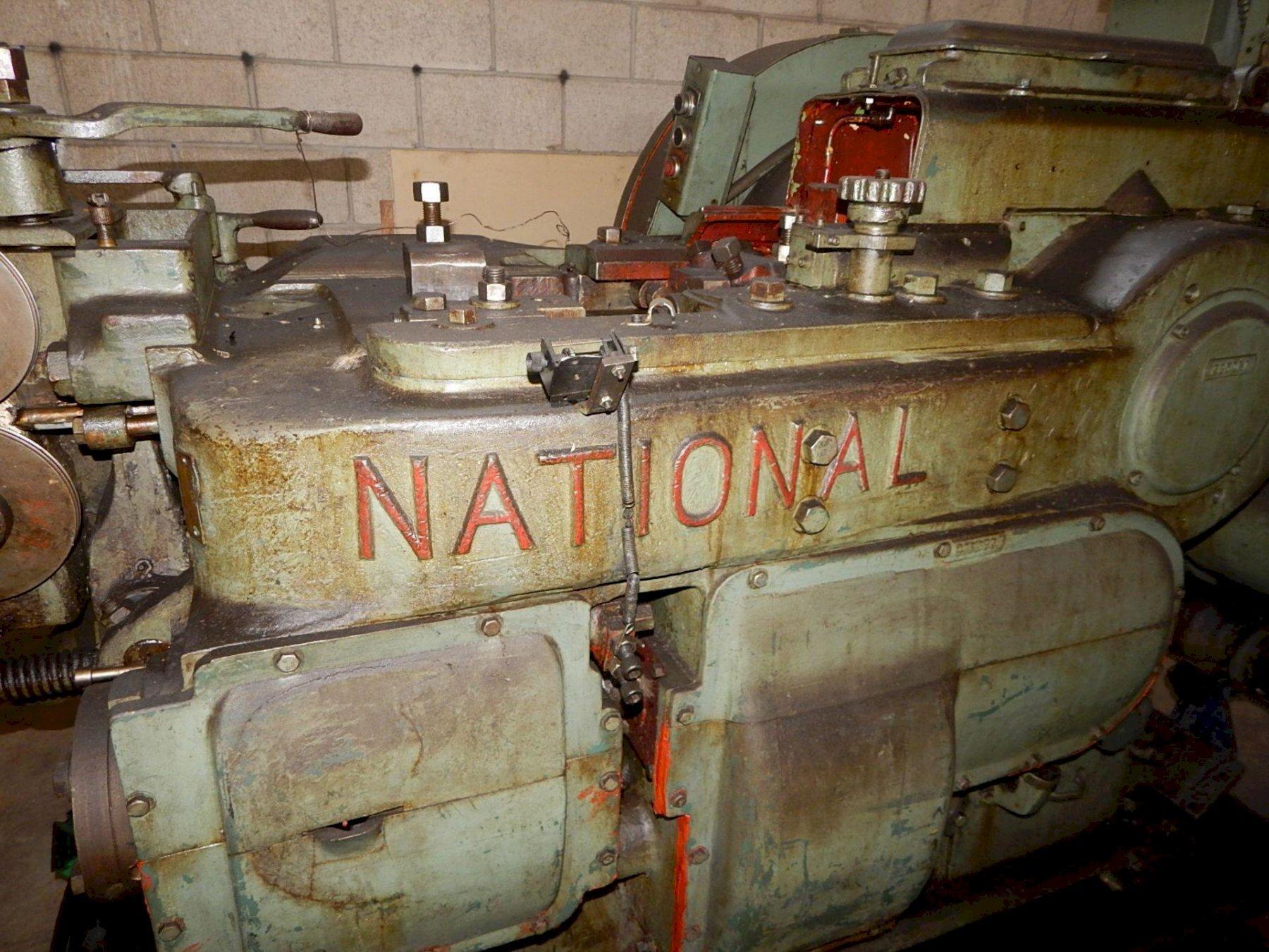 """1/4"""" National Long Stroke DSSD Cold Header"""