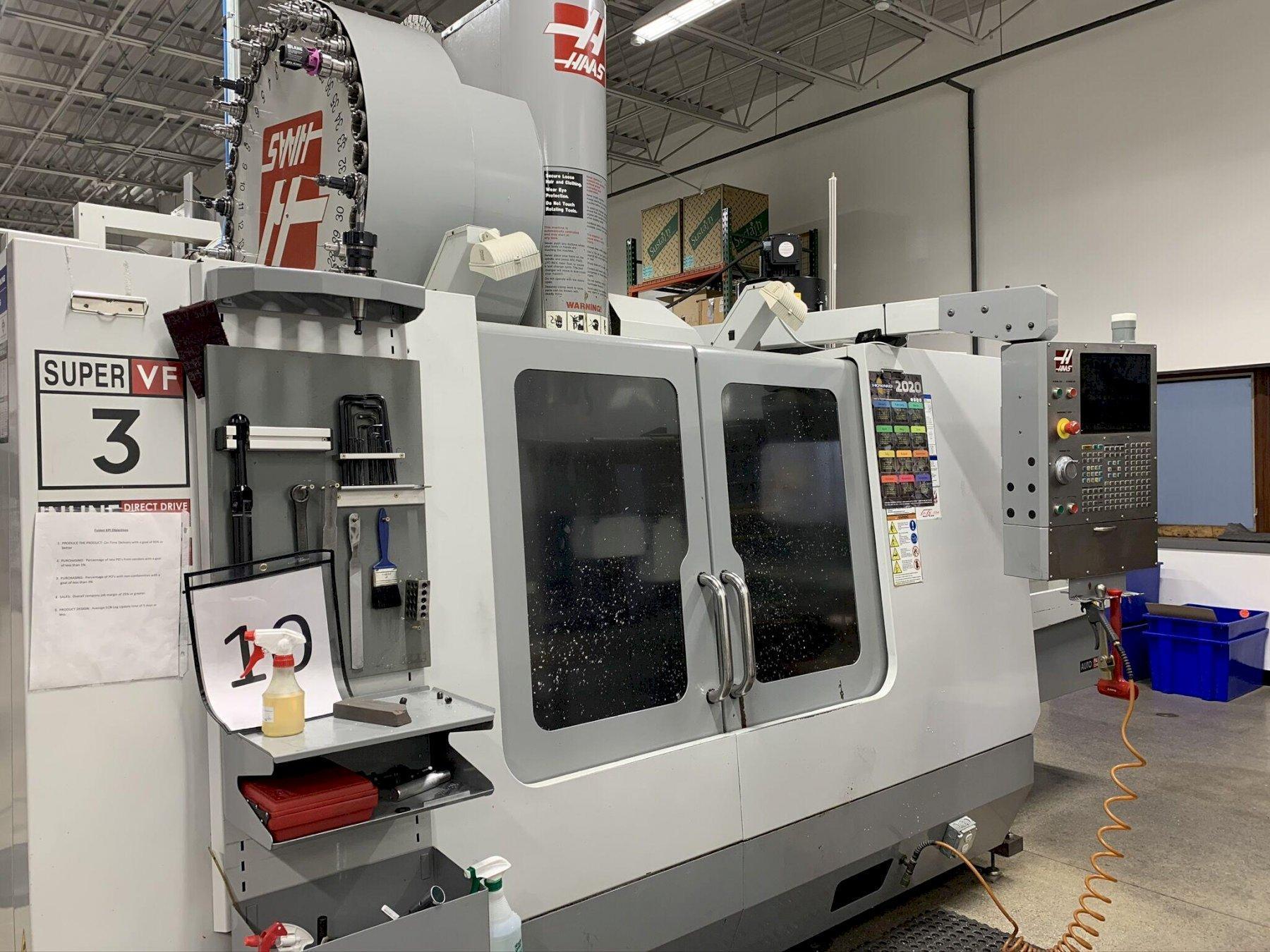 Haas VF-3SSAPC Vertical Machining Center